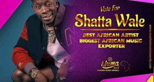SHATTA WALE BAGS NOMINATION IN CAMEROON